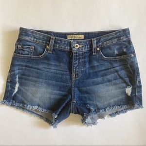 Guess Midrise jean shorts